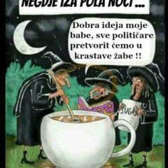 Sve političare u krastave žabe!