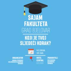 1. Sajam fakulteta Bjelovar