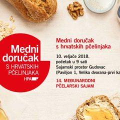 Medni doručak s hrvatskih pčelinjaka