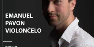 KONCERT – Emanuel Pavon, violončelo