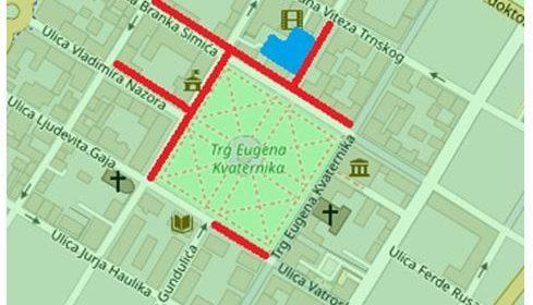Zatvorene ulice za Dan Grada Bjelovara