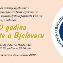 110 godina esperanta u Bjelovaru